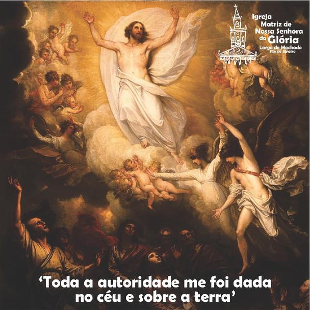'Toda a autoridade me foi dada no céu e sobre a terra. Mt 28,18
