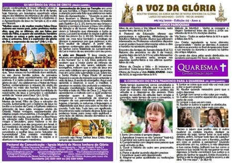 A Voz da Glória  edição 15 Ano 04 - Março de 2020
