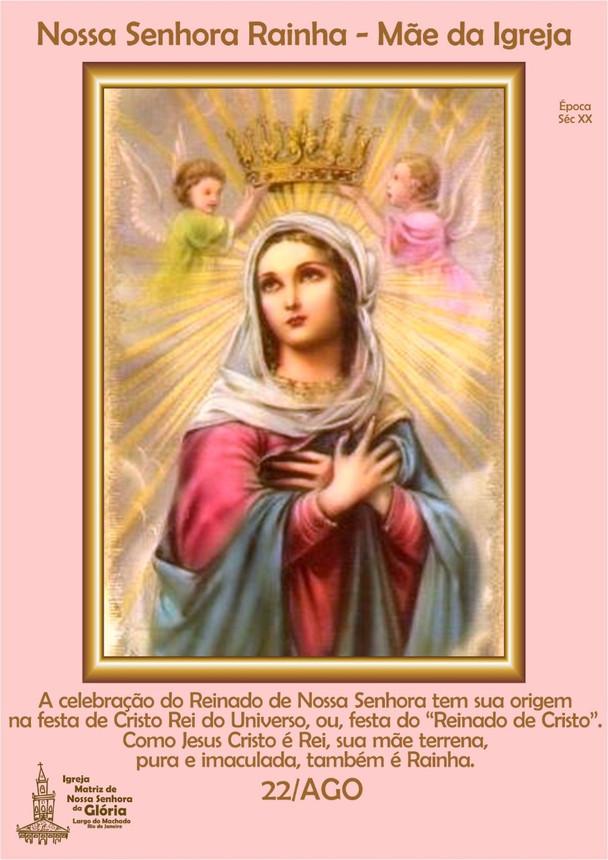 Nossa Senhora Rainha - Mãe da Igreja
