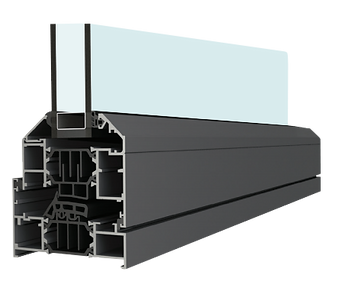 Bifold Direct - aluminium window sash and frame