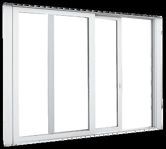 Air sliding doors