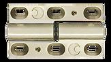 Bifold door stainless steel hinge