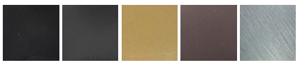 Bifold Direct - Air door handle colour options