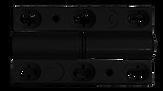 Bifold door black hinge