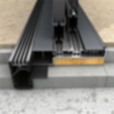 Bifold Direct - flush threshold drainage
