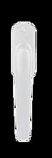 Bifold door white slave handle