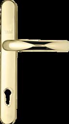 Bifold door lever gold