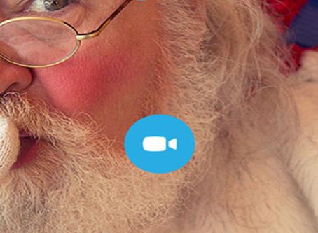 Ho, ho, ho – Santa's on Skype