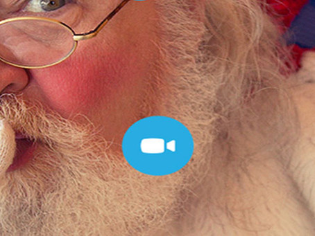 Ho, ho, ho – Santa's on Skype