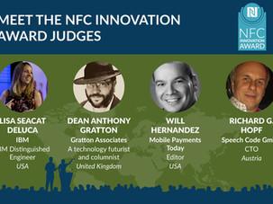 NFC Forum 2018 NFC Innovation Award Judges Announced