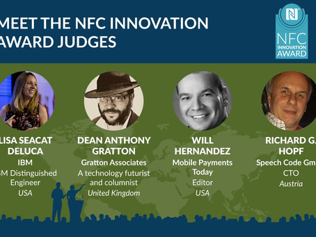 NFC Forum 2018 NFC Innovation Award Judges Announced
