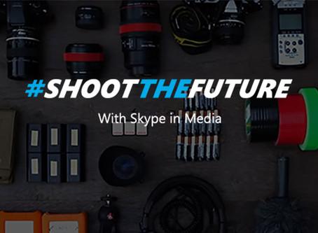Skype looks to you to Shoot the Future