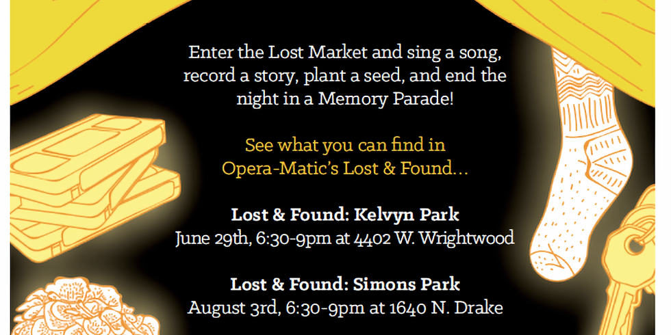 """Operamatic """"Lost & Found"""" at Unity Park"""