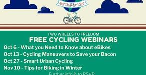 Free Cycling Webinars