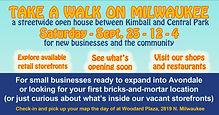 Take-a-Walk on Milwaukee Ave.