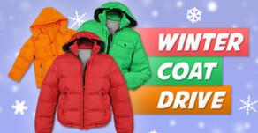 Men's Winter Coat Drive