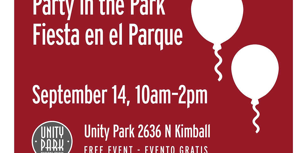 Party in the Park at Unity Park
