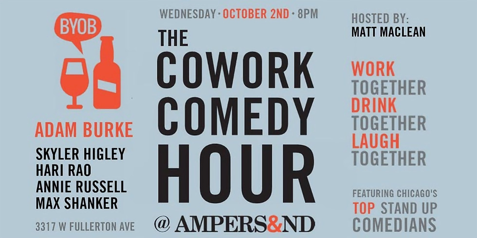 Cowork Comedy Hour at Ampersand