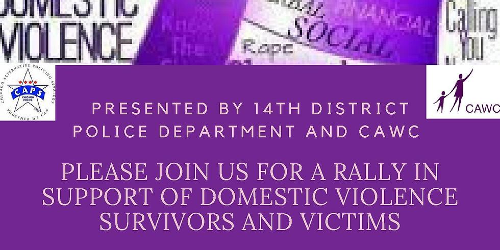 Domestic Violence Awareness Rally