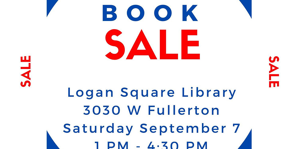 Book Sale at the Logan Square Library