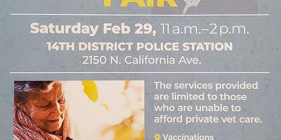 Dog Wellness Fair at the 14th Police District