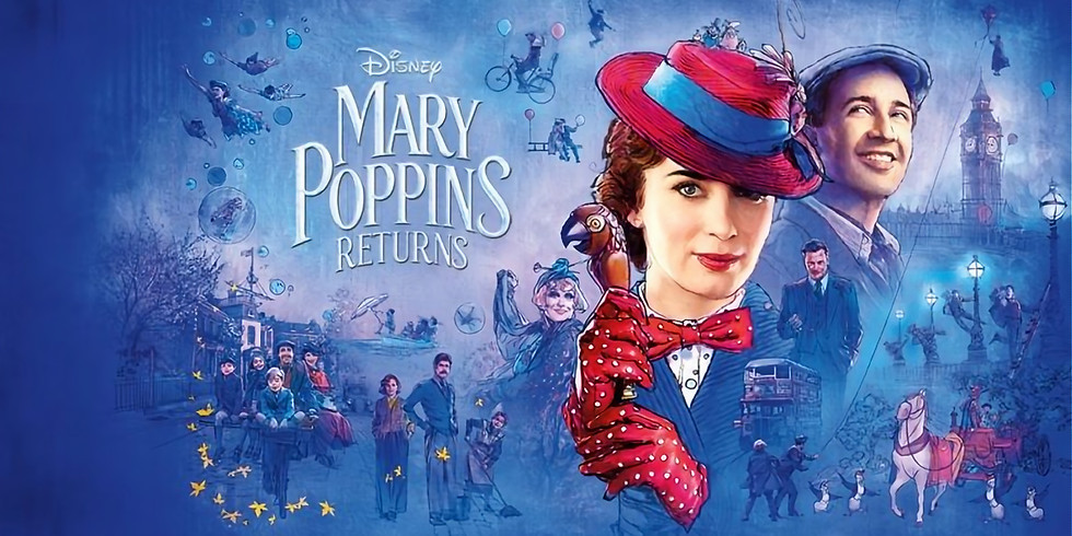 """Movie in the Park at Unity Park """"Mary Poppins Returns"""""""
