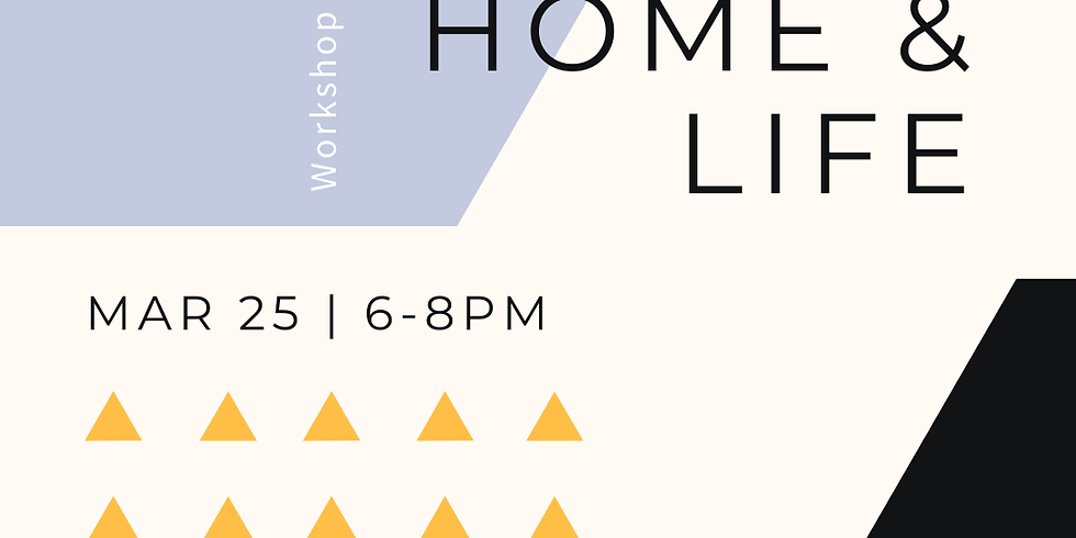 Part 2: Tidy Up: Home & Life - Workshop Edition at Ampersand Cowork