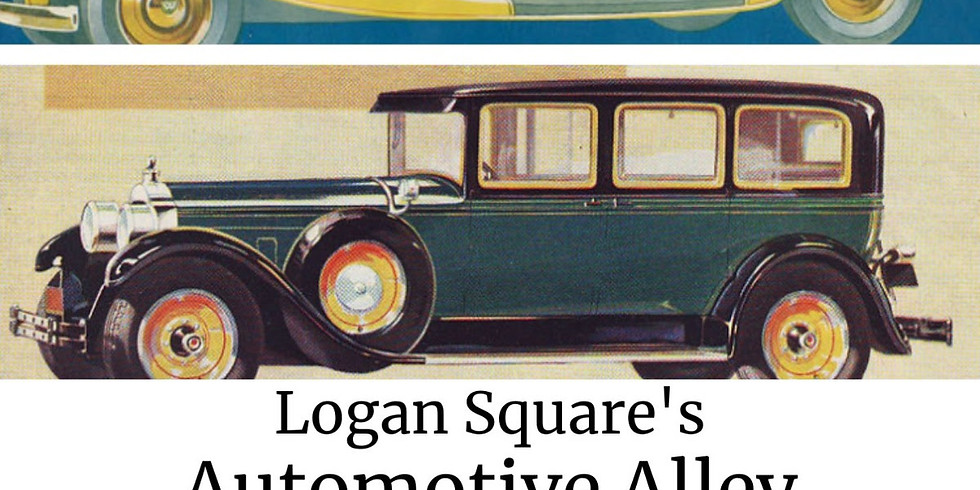Logan Square's Automotive Alley at The Logan Square Library