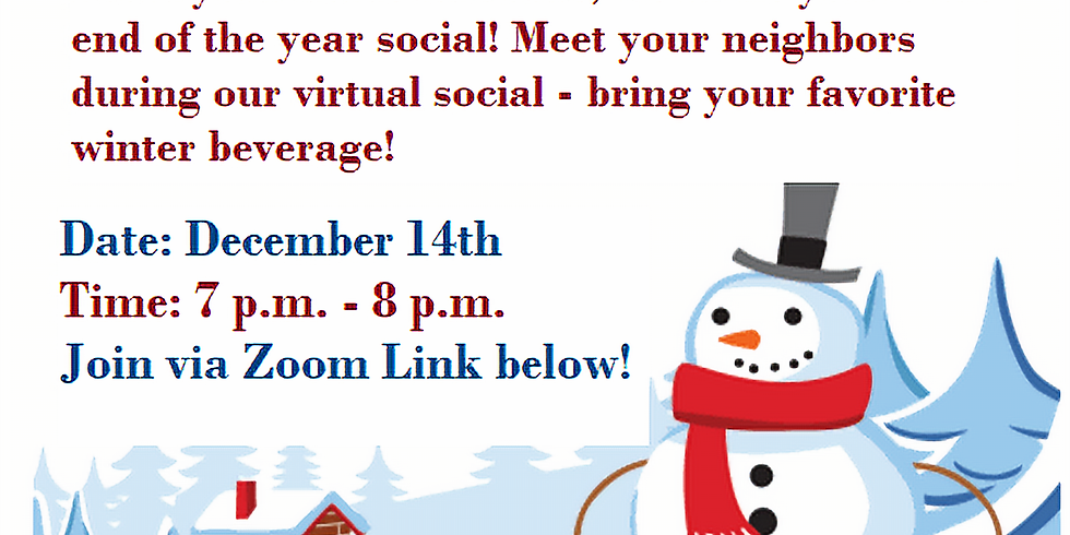 ANA End of the Year Virtual Social
