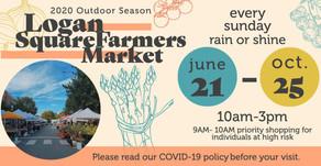 The 2020 Outdoor Farmers Market Returns