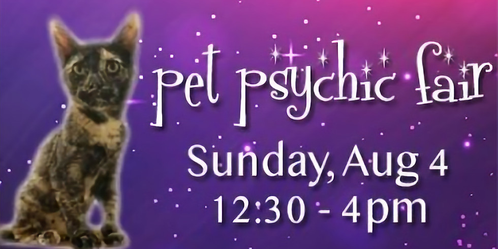 Pet Psychic Fair Fundraiser for Harmony House For Cats