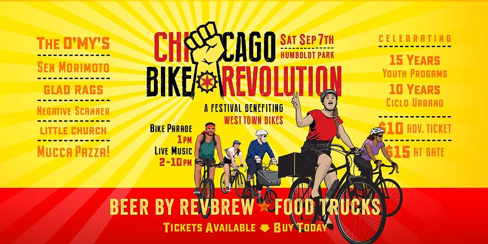 Bike Revolution at Humboldt Park