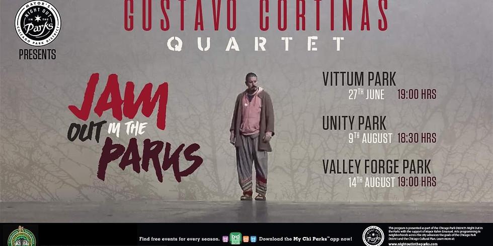 Gustavo Cortiñas Quartet Tuning Back at Unity Park