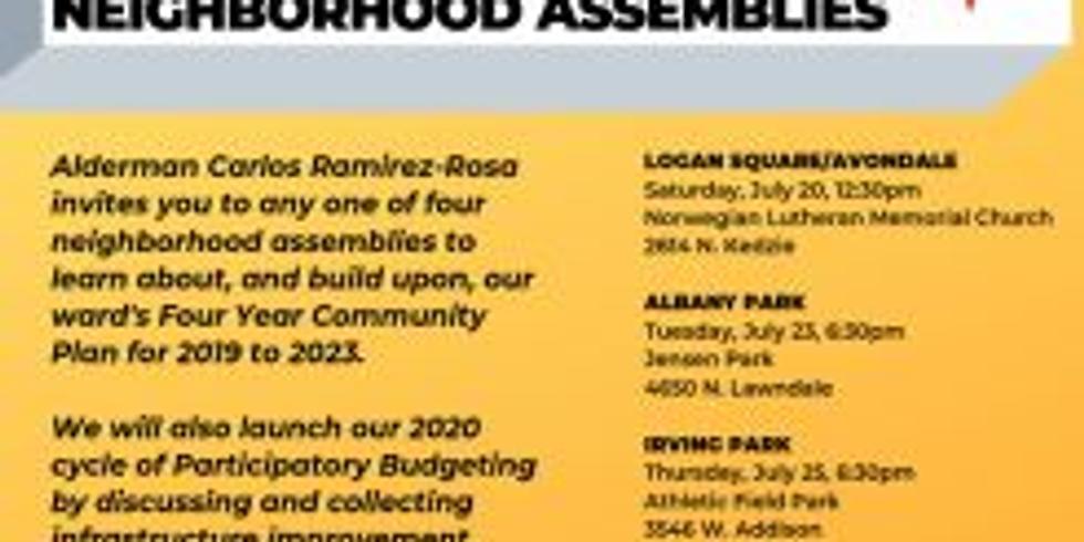 35th Ward Visioning & Planning Neighborhood Assemblies