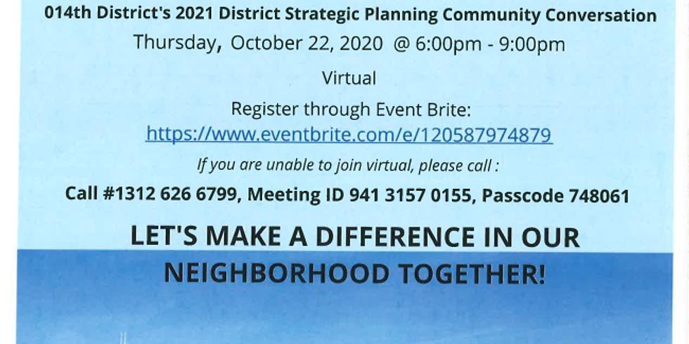 14th District Virtual Community Conversation