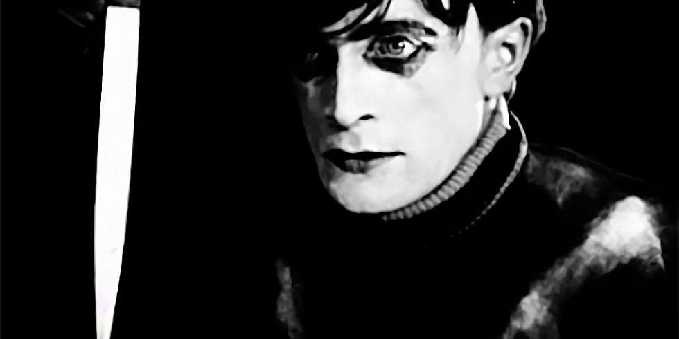 Macabre 1920 Silent Film The Cabinet of Dr. Caligari at the Logan Theatre
