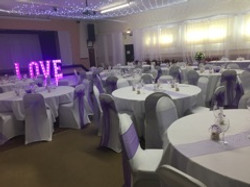 Coloured Chair Sashes also available