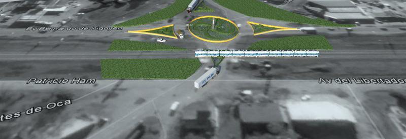 Intercambiador vial Ruta 7 y 24