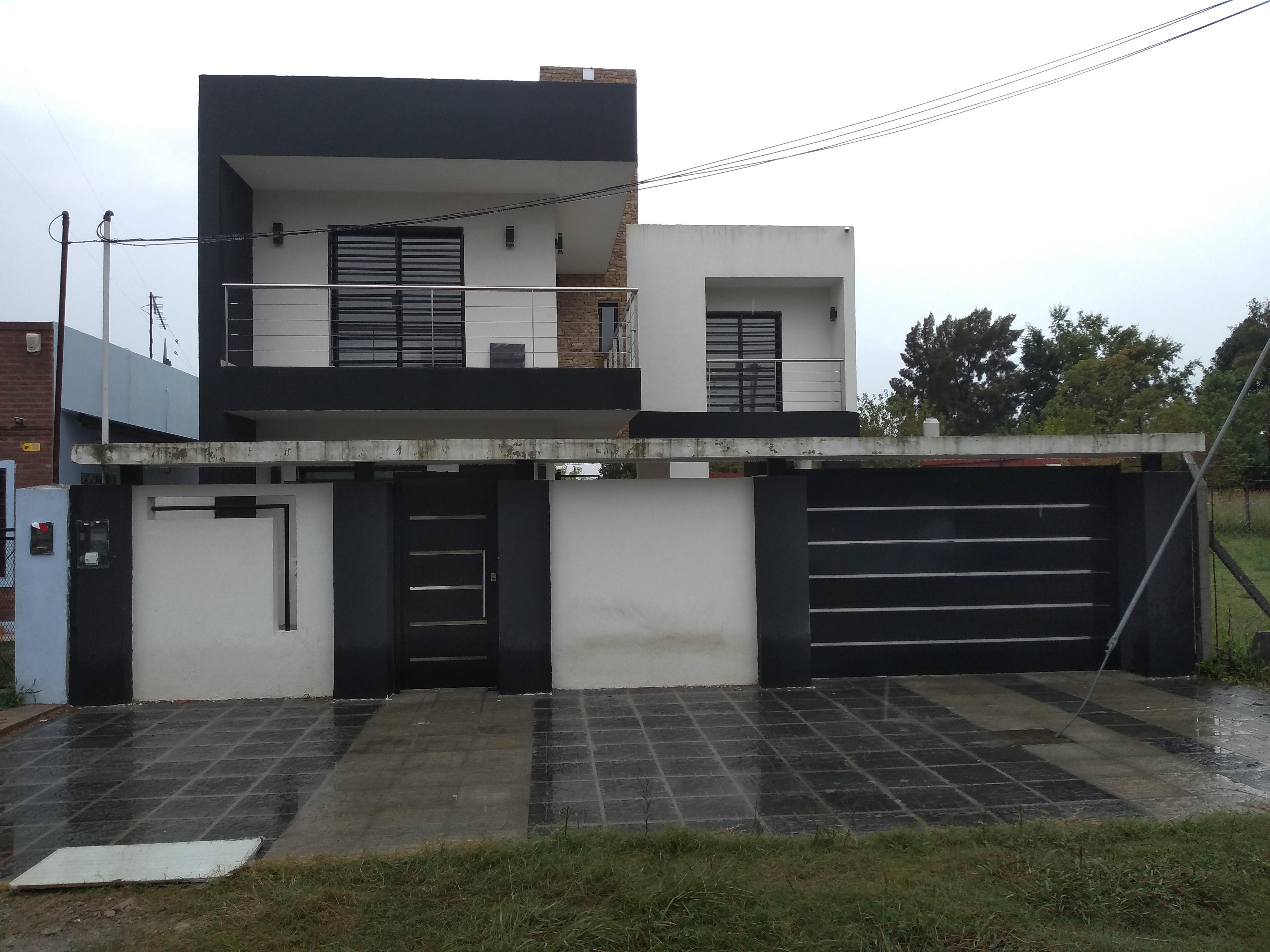 Casa JT, Fachada Ppal.
