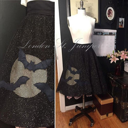 Batty Circle Skirt