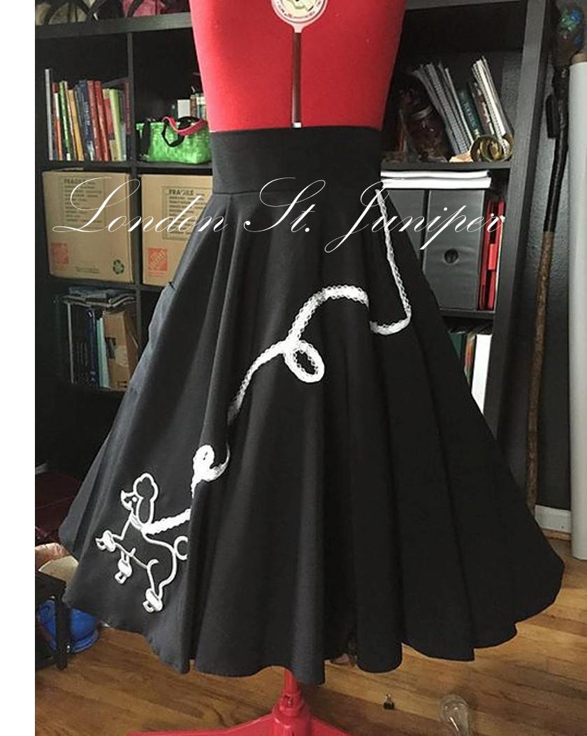 Standard Poodle Skirt