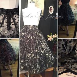 Sheer Batty Skirt