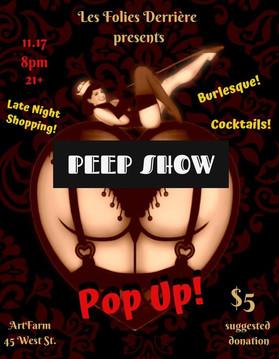 Peep Show Pop Up
