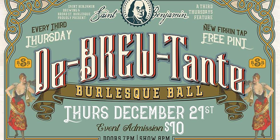 De-BREW-Tante Burlesque Ball