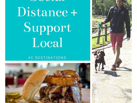 Social Distance & Support Local!