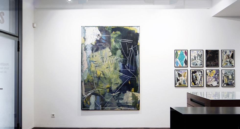 Exhibition View / Groupshow at Gallery Gans / 2019, Vienna