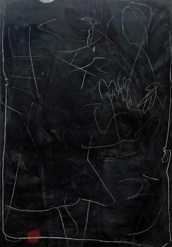 boarda | Mischtechnik auf Leinwand / mixed media on canvas | 198 x 138 cm | 2015