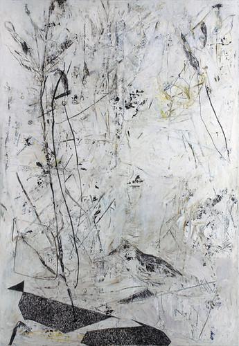 white humming | Mischtechnik auf Leinwand / mixed media on canvas | 198 x 138 cm | 2015