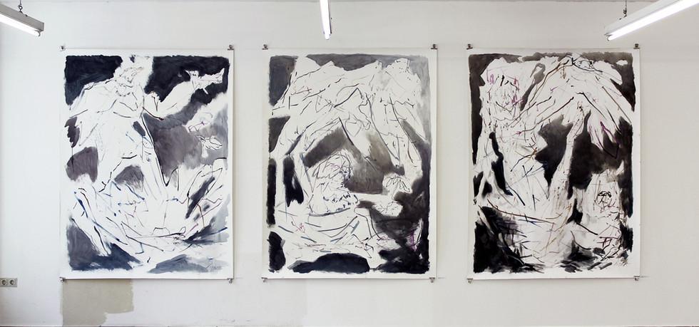 Exhibition View / Groupshow / Stefan Kreuzer - Michael Dohr, Galerie 2 / 2014, Carinthia