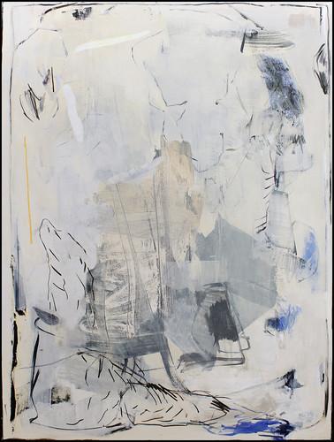 ohne Titel /untitled | Mischtechnik auf Leinwand / mixed media on canvas | 160 x 120 cm | 2016